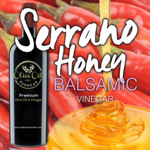 Serrano Honey Balsamic Vinegar