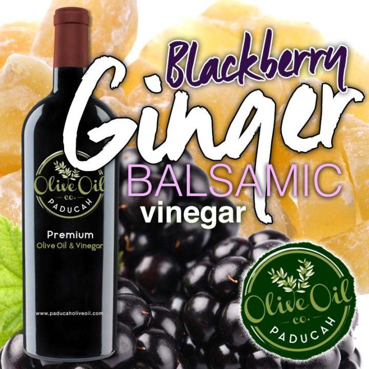 Blackberry Ginger Balsamic Vinegar