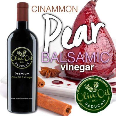 Cinnamon Pear Balsamic Vinegar