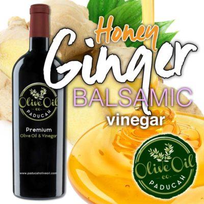 Honey Ginger Balsamic Vinegar