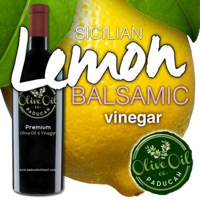 sicilian lemon white balsamic vinegar