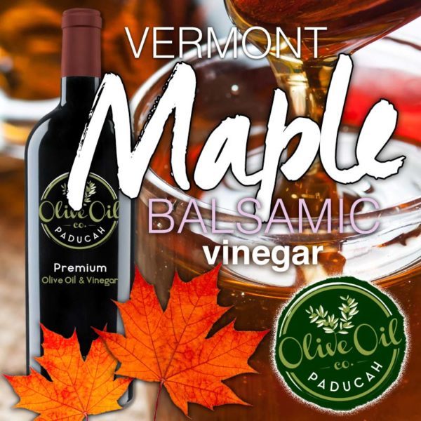 Vermont maple balsamic vinegar