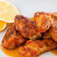 spicy citrus wings