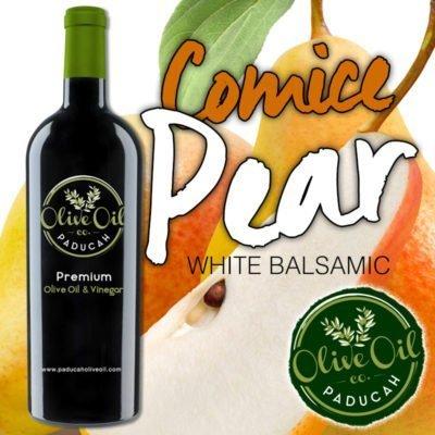 comice pear white balsamic