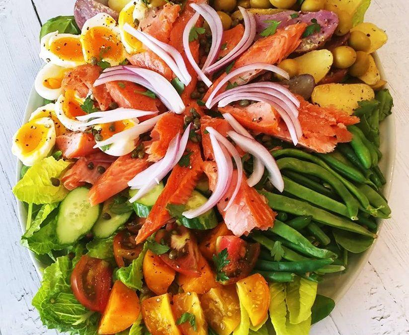 Rachel's Smoked Salmon Nicoise Salad