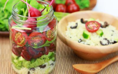 Lunchtime Jar Salad
